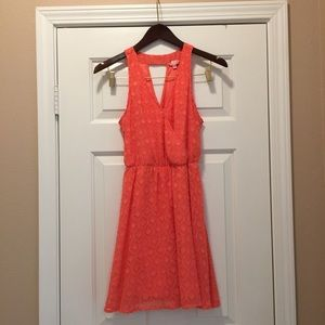 Candie's coral dress